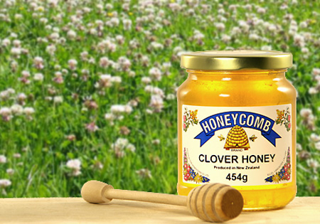 NZ Clover Honey - Clear